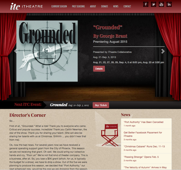 iTheatre Collaborative website